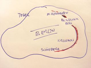 halvsirkel i Berlin