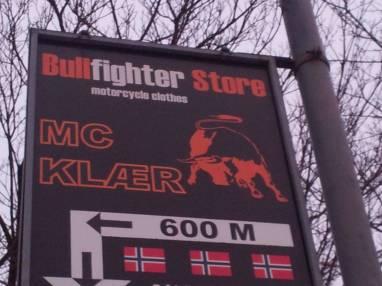 Bullfighet-skilt