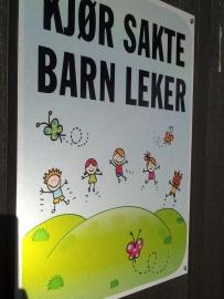 barn leker plakat