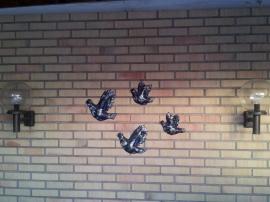fugler på nordbergvegg
