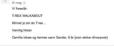 Trex-forslag