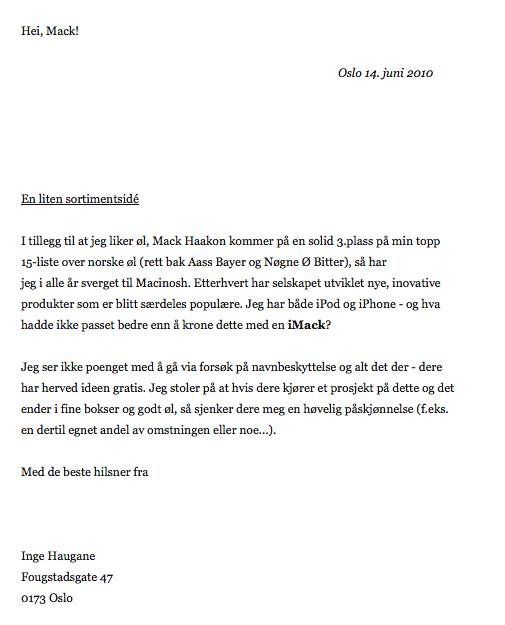 iMack-brev