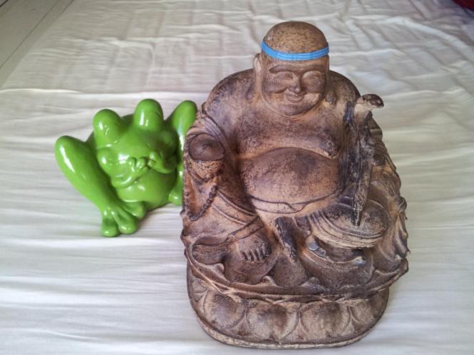 Budda og frosk