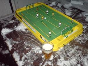 Foppal&øll i vinterhagen