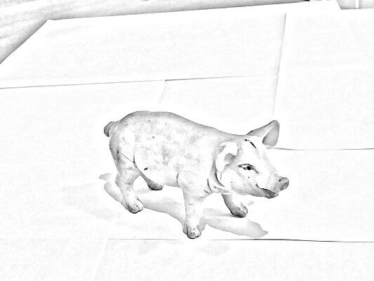 Tegnet gris
